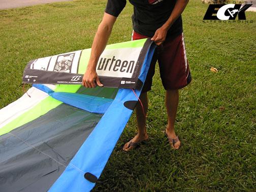 folding a kite